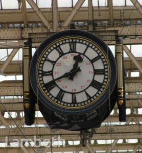 CLOCK, WATERLOO STATION
