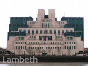 MI6 HEADQUARTERS, ALBERT EMBANKMENT, VAUXHALL