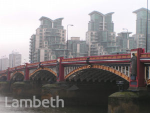 VAUXHALL BRIDGE AND ST GEORGE WHARF, VAUXHALL