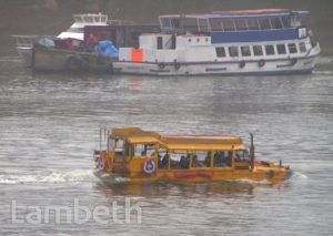 LONDON DUCK TOURS, NEAR LAMBETH BRIDGE, LAMBETH