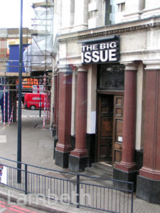 BIG ISSUE OFFICES, VAUXHALL CROSS, VAUXHALL