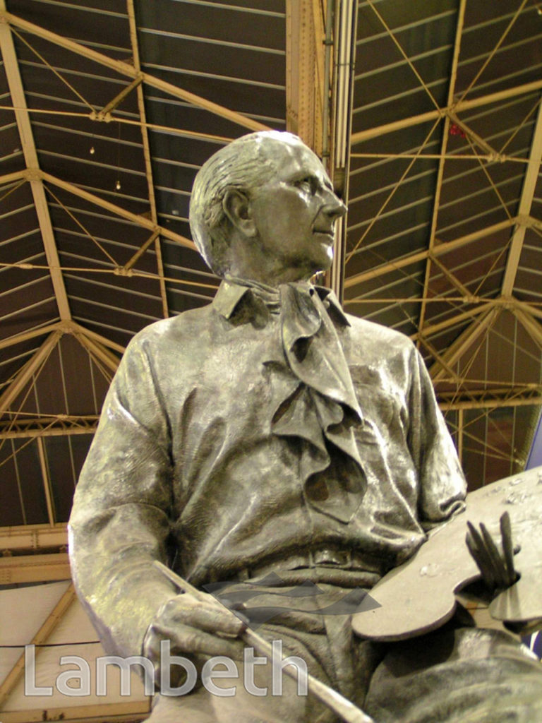 STATUE OF TERENCE CUNEO, WATERLOO STATION