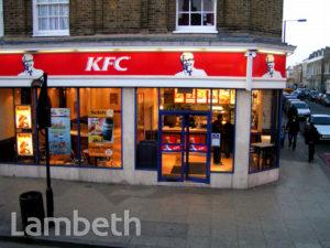 KFC, CLAPHAM HIGH STREET, CLAPHAM