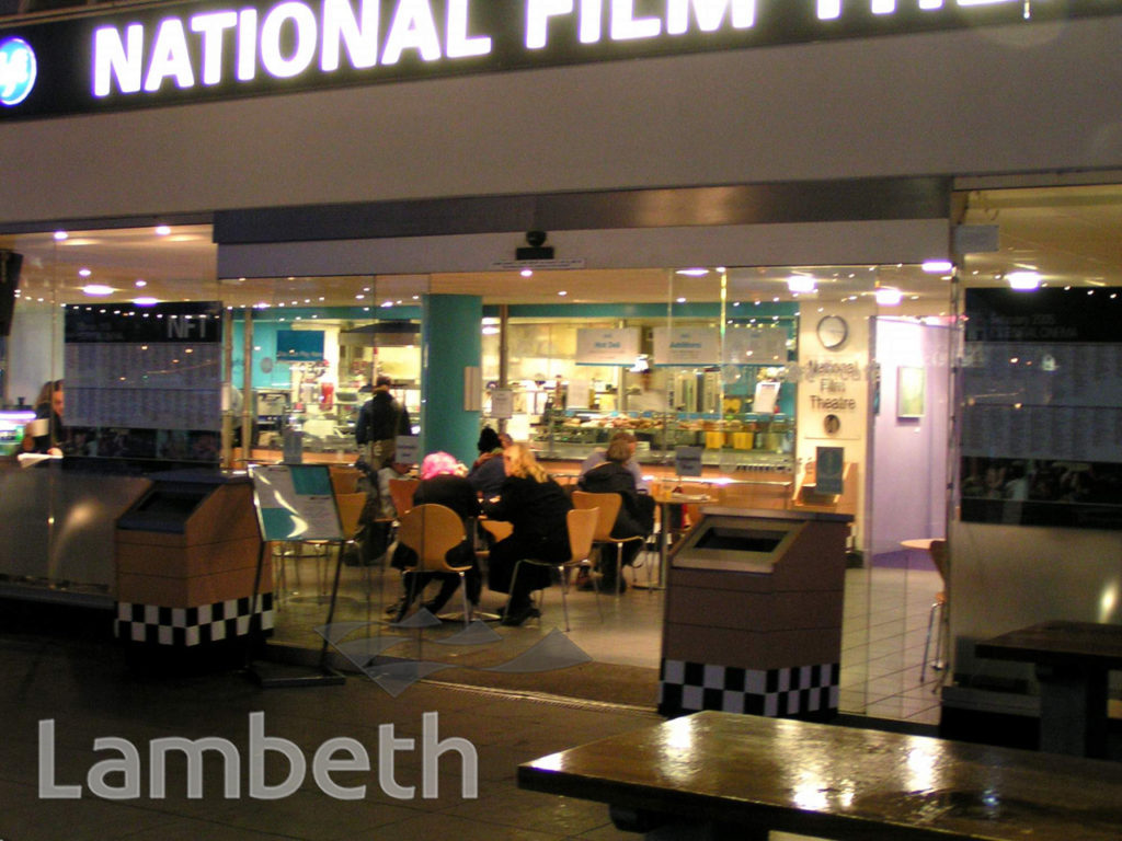 NATIONAL FILM THEATRE CAFE, SOUTH BANK