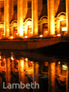 NIGHT-TIME REFLECTIONS, COUNTY HALL, WATERLOO