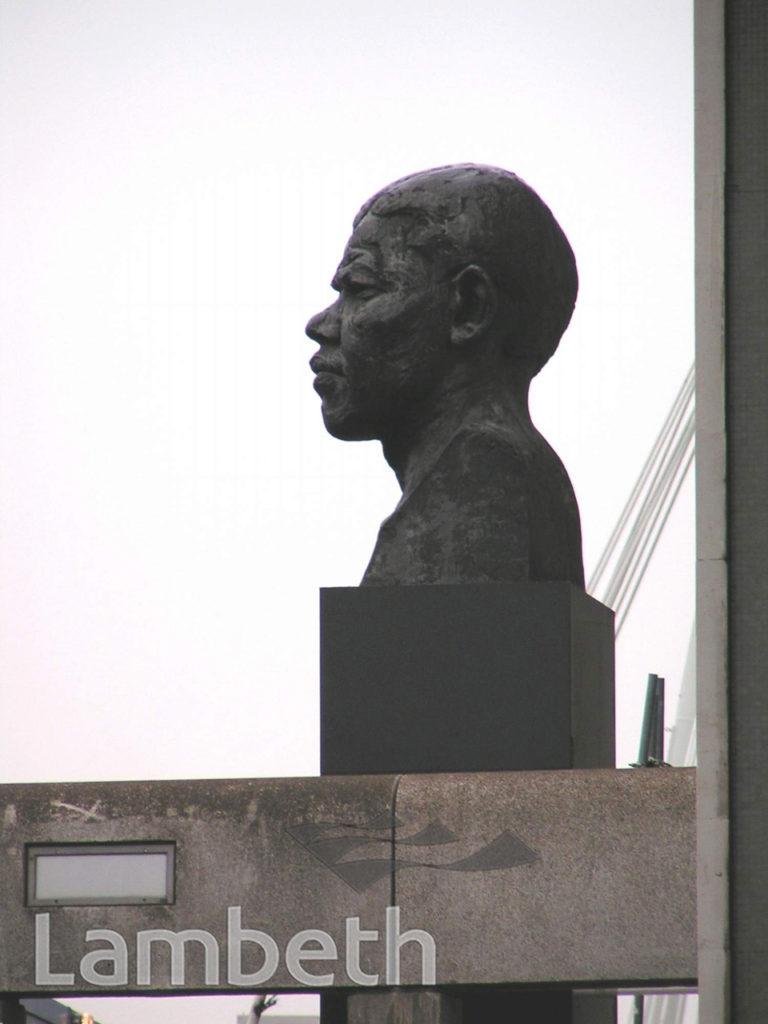 NELSON MANDELA STATUE, SOUTH BANK, WATERLOO