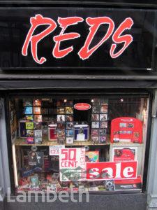REDS MUSIC SHOP, BRIXTON ROAD, BRIXTON