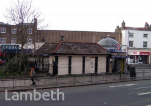 CLAPHAM COMMON UNDERGROUND STATION, CLAPHAM