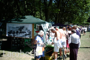 NORWOOD SOCIETY STALL, CRYSTAL PALACE PARK