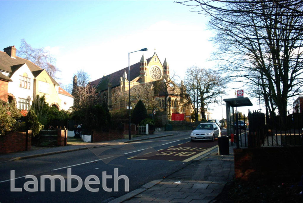 LEIGHAM COURT ROAD AND ST PETER'S CHURCH, STREATHAM