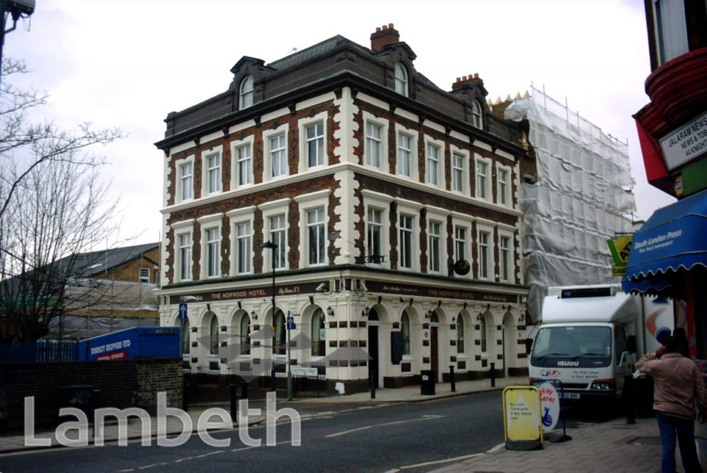 NORWOOD HOTEL, 3 KNIGHT'S HILL, WEST NORWOOD
