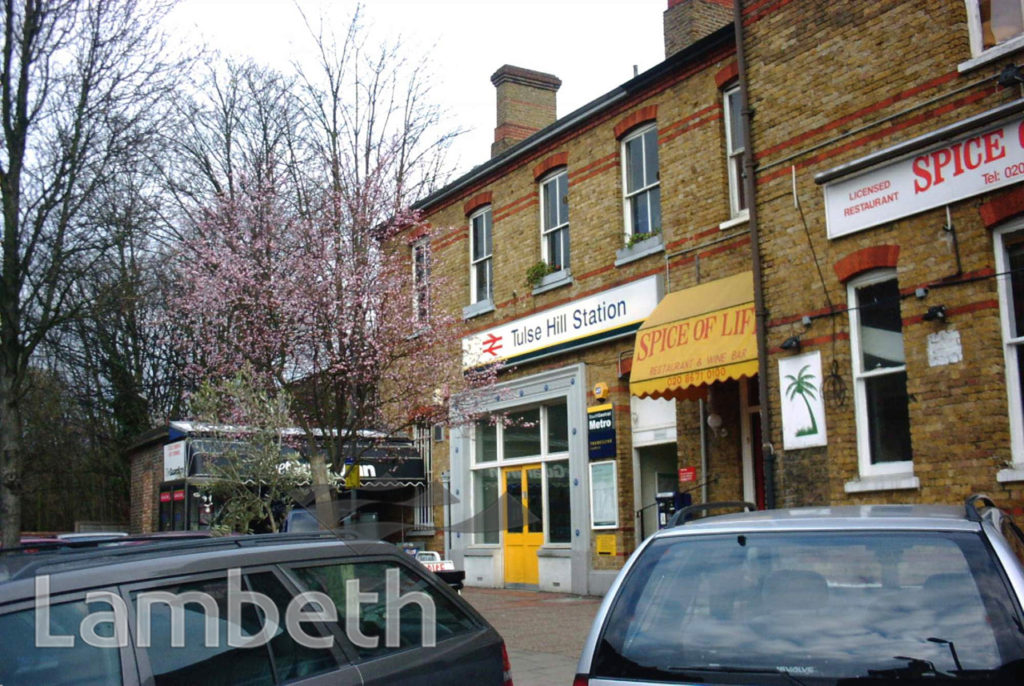TULSE HILL RAILWAY STATION, STATION RISE, TULSE HILL