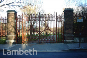 NORWOOD CEMETERY GATES, NORWOOD HIGH STREET