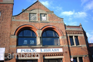 JOINT PUBLIC LIBRARY, WESTOW HILL, UPPER NORWOOD