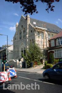 FORMER BAPTIST CHURCH, GIPSY ROAD, WEST NORWOOD