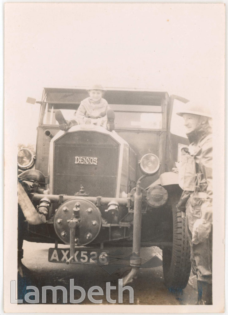 BOY ON FIRE TRUCK: WORLD WAR II