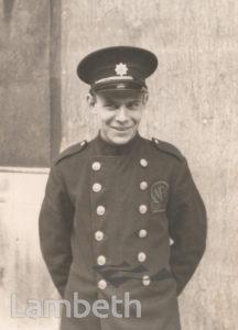 AUXILLARY FIRE SERVICE FIREMAN: WORLD WAR II
