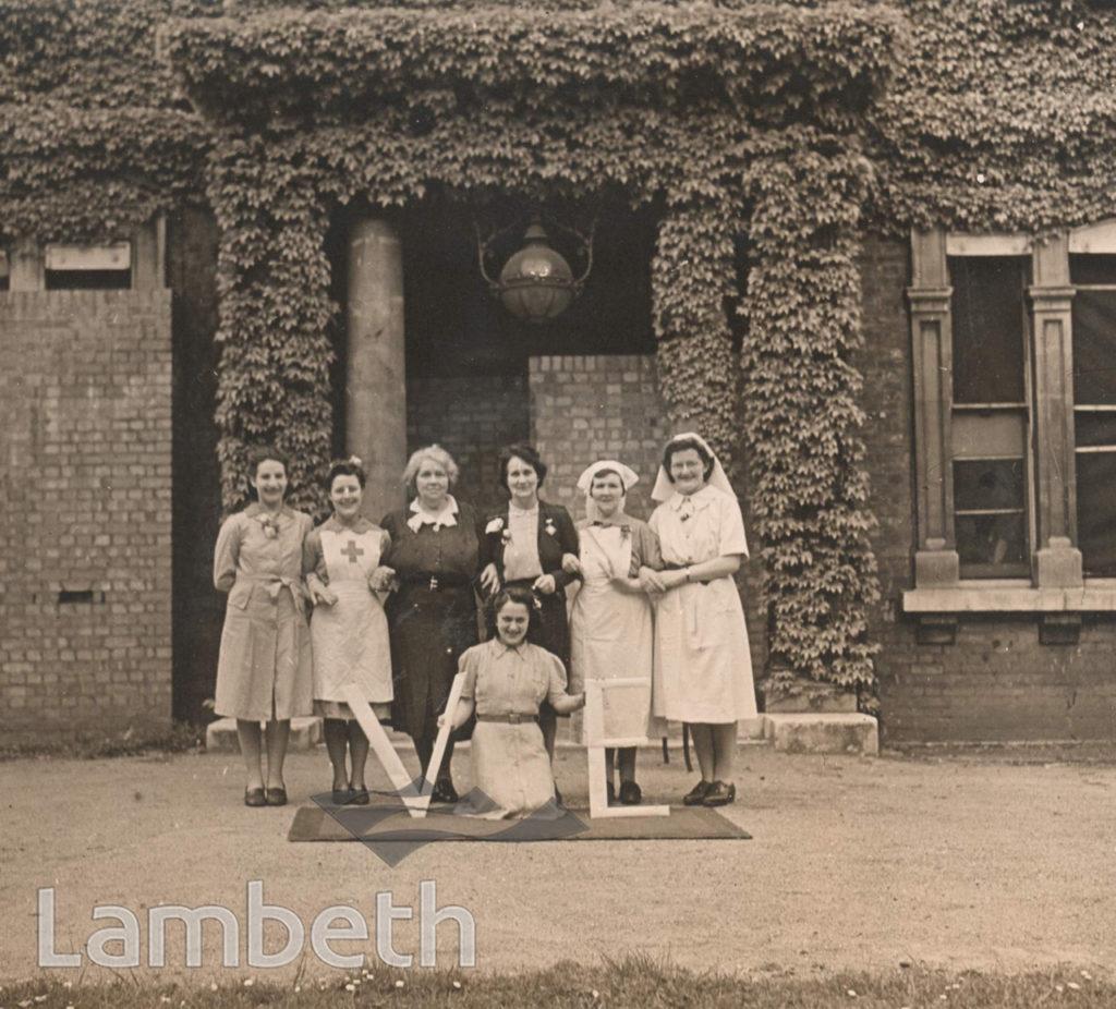 FENSTANTON HOME, CHRISTCHURCH ROAD, STREATHAM: WORLD WAR II