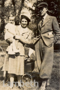 GOWER FAMILY ON STREATHAM COMMON: WORLD WAR II
