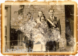 RUSSELL FAMILY PHOTO, WEST NORWOOD: WORLD WAR II