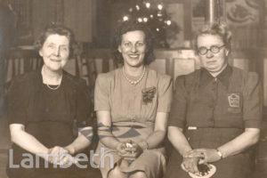 WOMEN'S VOLUNTARY SERVICE MEMBERS: WORLD WAR II