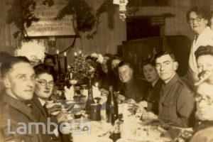 WVS CHRISTMAS DINNER AT NAVILLUS CLUB: WORLD WAR II