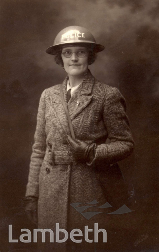 RESERVE POLICEWOMAN: WORLD WAR II