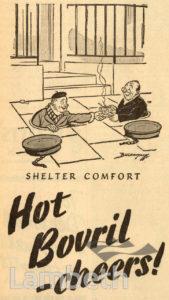 BOVRIL ADVERTISEMENT: WORLD WAR II