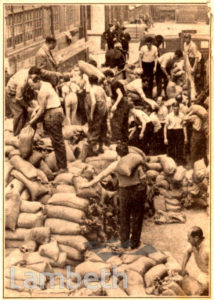 JEWISH REFUGEES WORKING IN LONDON: WORLD WAR II