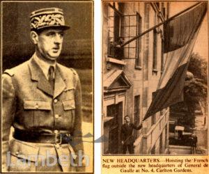 GENERAL DE GAULLE'S HEADQUARTERS: WORLD WAR II