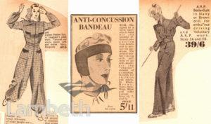 WOMENS FASHIONS: WORLD WAR II
