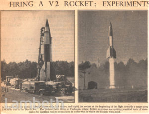 V2 ROCKET:WORLD WAR II