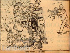 POST-WAR CARTOON: WORLD WAR II