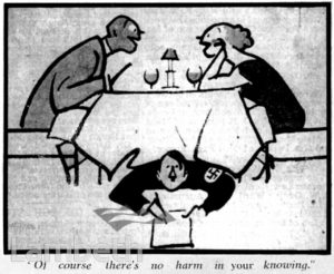 CARELESS TALK CARTOON: WORLD WAR II
