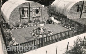 PRE-FABRICATED NISSEN HUTS, LAMBETH: WORLD WAR II