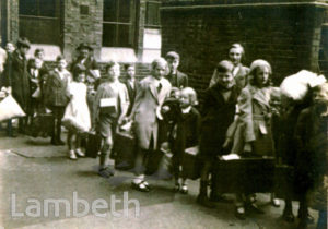 EVACUEES, ST ANDREW'S SCHOOL, WATERLOO: WORLD WAR II