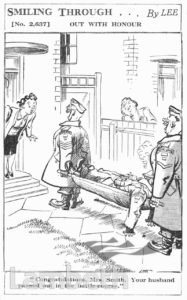 HOME GUARD CARTOON: WORLD WAR II