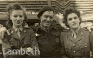 ATS DRIVERS, SOUTH LAMBETH: WORLD WAR II