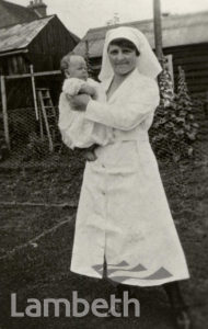 MIDWIFE WITH CHILD: WORLD WAR II