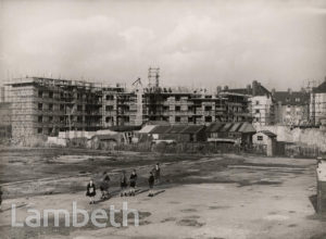 CONSTRUCTION OF FOUNT STREET ESTATE, LAMBETH