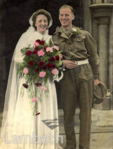 STREATHAM WEDDING:WORLD WAR II