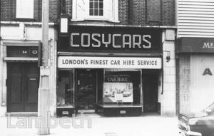 COSYCARS, STREATHAM HIGH ROAD