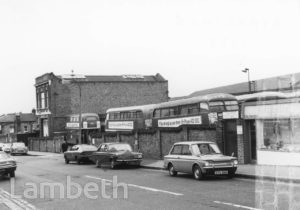 REAR OF STREATHAM BUS GARAGE, NATAL ROAD, STREATHAM