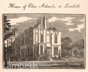 ASHMOLE'S HOUSE, SOUTH LAMBETH ROAD
