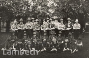 SOUTH LAMBETH SCOUTS AND CUB GROUP, BROCKWELL PARK