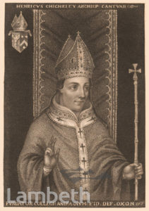 HENRY CHICHELEY, ARCHBISHOP OF CANTERBURY