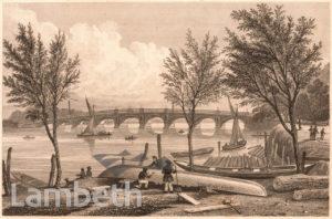 VAUXHALL BRIDGE FROM MILLBANK