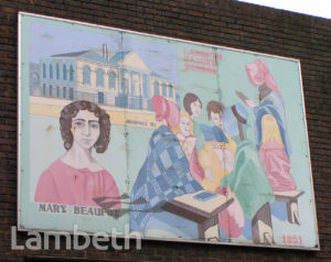 LAMBETH WALK MURAL, LAMBETH