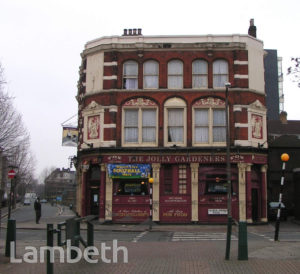 THE JOLLY GARDENERS, BLACK PRINCE ROAD, LAMBETH