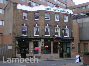 THE WINDMILL PUBLIC HOUSE, LAMBETH HIGH STREET